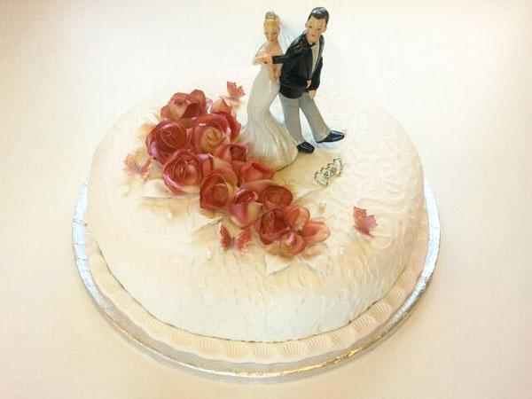 Kake til bryllup